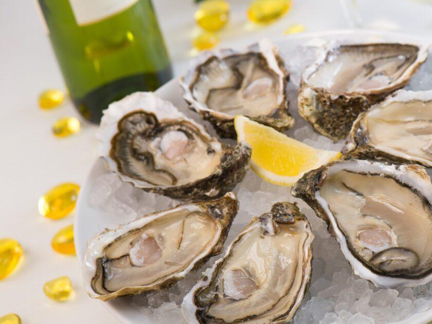 牡蠣と白ワイン